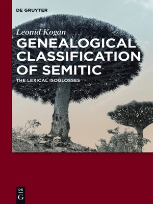 cover image of Genealogical Classification of Semitic