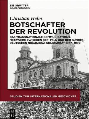 cover image of Botschafter der Revolution
