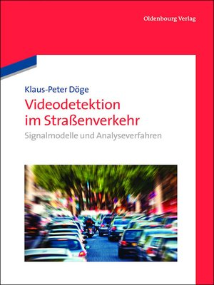 cover image of Videodetektion im Straßenverkehr