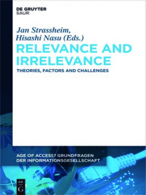 cover image of Relevance and Irrelevance