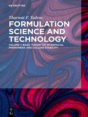 cover image of Basic Theory of Interfacial Phenomena and Colloid Stability