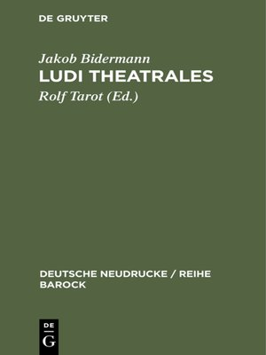 cover image of Ludi theatrales