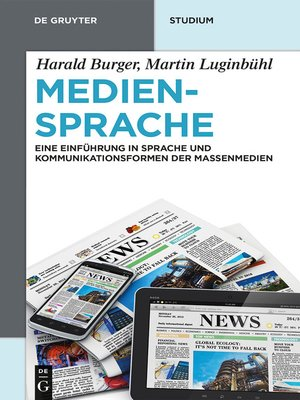 cover image of Mediensprache