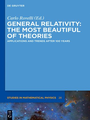 cover image of General Relativity