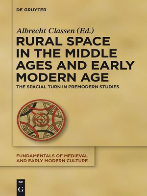 cover image of Rural Space in the Middle Ages and Early Modern Age