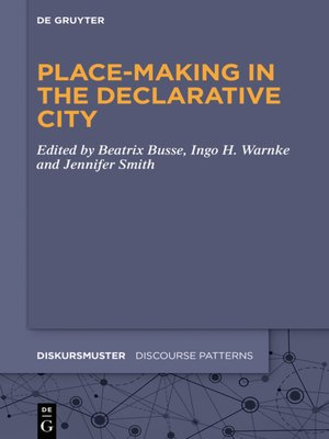 cover image of Place-Making in the Declarative City