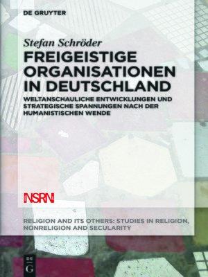 cover image of Freigeistige Organisationen in Deutschland