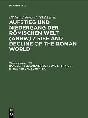 cover image of Sprache und Literatur (Sprachen und Schriften)