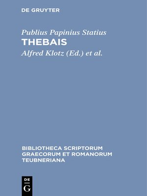 cover image of Thebais
