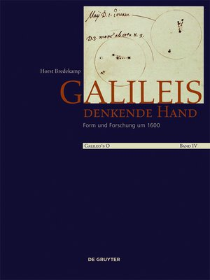 cover image of Galileis denkende Hand