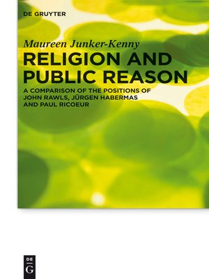 cover image of Religion and Public Reason