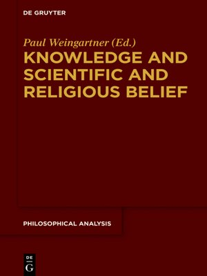 cover image of Knowledge and Scientific and Religious Belief