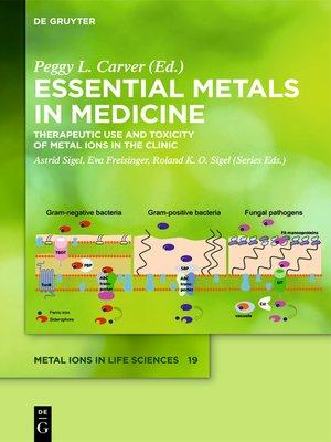 cover image of Essential Metals in Medicine
