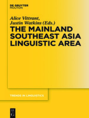 cover image of The Mainland Southeast Asia Linguistic Area