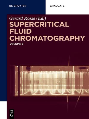cover image of Supercritical Fluid Chromatography