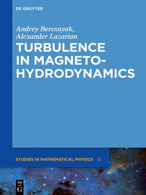 cover image of Turbulence in Magnetohydrodynamics