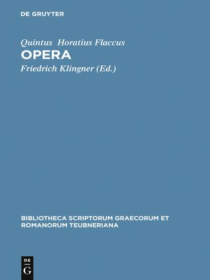 cover image of Opera