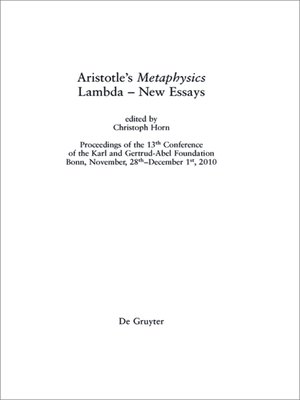 aristotle s metaphysics may guide contemporary people to knowledge about the world Metaphysics is a branch of philosophy concerned with the fundamental nature of being and the world the term may guide to metaphysics: metaphysics, aristotle.