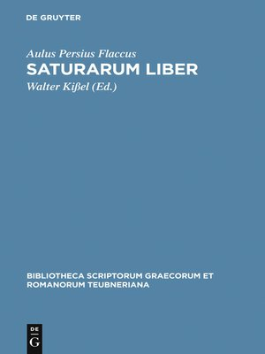 cover image of Saturarum liber