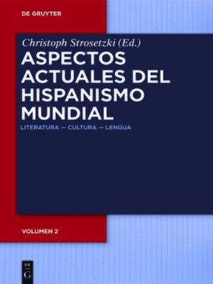 cover image of Aspectos actuales del hispanismo mundial