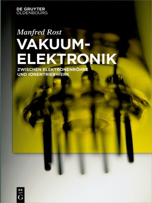 cover image of Vakuumelektronik