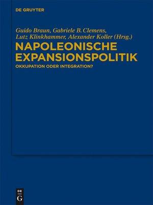 cover image of Napoleonische Expansionspolitik