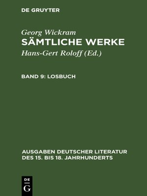 cover image of Losbuch