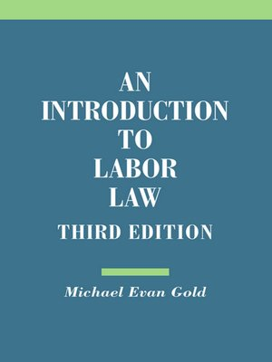 cover image of An Introduction to Labor Law