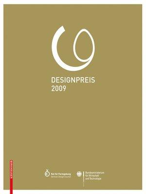 cover image of Designpreis der Bundesrepublik Deutschland 2009 / Design Award of the Federal Republic of Germany 2009