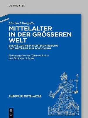 cover image of Mittelalter in der größeren Welt