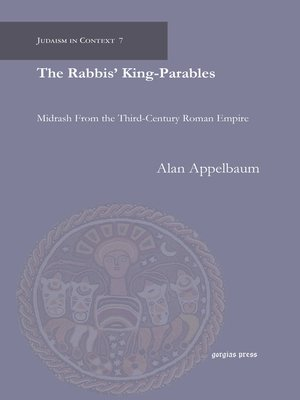 cover image of The Rabbis' King-Parables