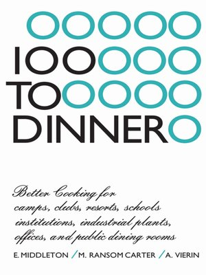 cover image of 100 to Dinner