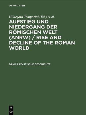 cover image of Politische Geschichte