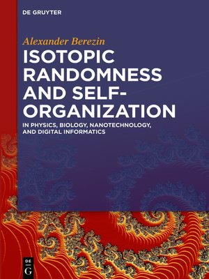 cover image of Isotopic Randomness and Self-Organization