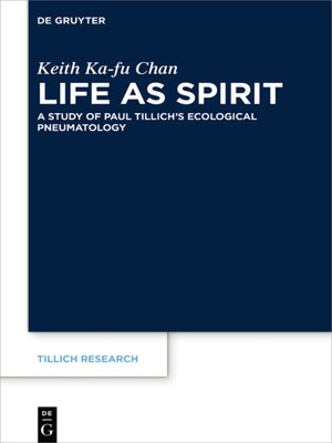 cover image of Life as Spirit