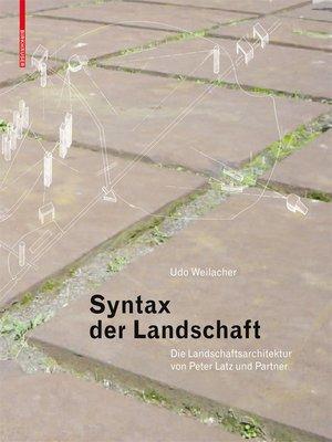 system l andschaft l andscape as a system bund deutscher l andschaftsarchitekten