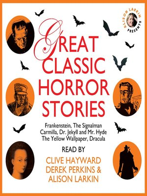 cover image of Great Classic Horror Stories