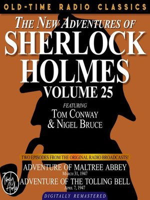 cover image of The New Adventures of Sherlock Holmes, Volume 25, Episode 1