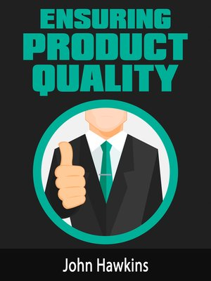 cover image of Ensuring Product Quality