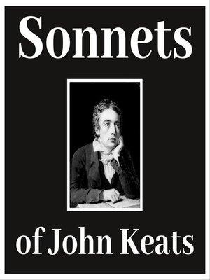 cover image of Sonnets of John Keats