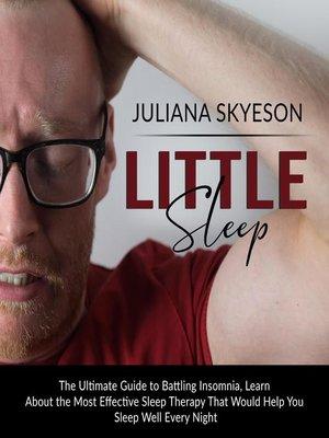 cover image of Little Sleep