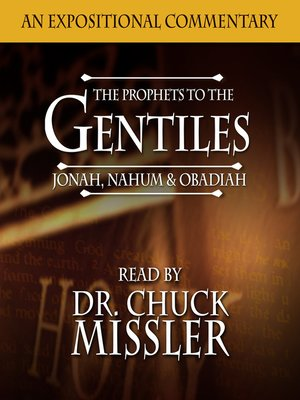 cover image of The Prophets to the Gentiles