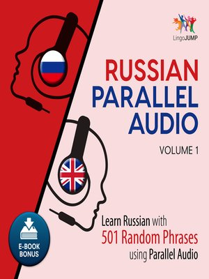 cover image of Learn Russian with 501 Random Phrases using Parallel Audio - Volume 1