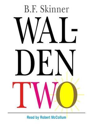 cover image of Walden Two
