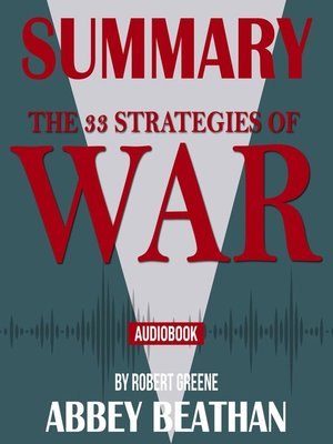 cover image of Summary of The 33 Strategies of War by Robert Greene