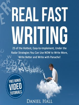 cover image of Real Fast Writing