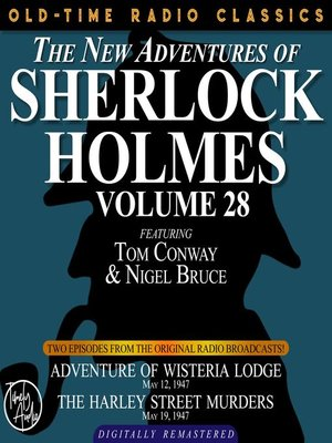 cover image of The New Adventures of Sherlock Holmes, Volume 28, Episode 1