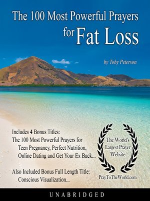 cover image of The 100 Most Powerful Prayers for Fat Loss