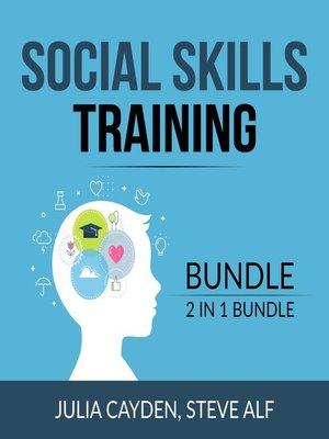 cover image of Social Skills Training Bundle, 2 in 1 Bundle