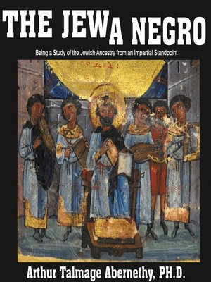 cover image of The Jew a Negro